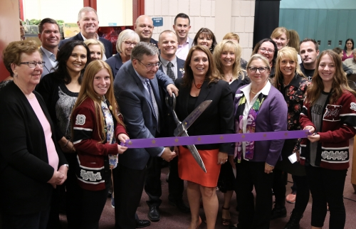 Knight's Pride Project Ribbon Cutting